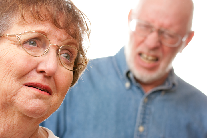 Senior Couple in An Argument