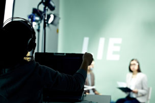 Making TV show