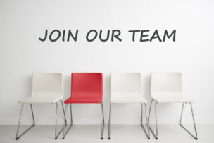 Chair background concept - recruitment hire hiring interview