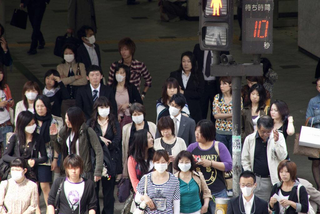 People who mask