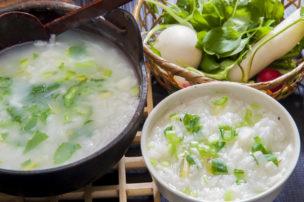 Nanakusa Porridge toraditinal Japanese New Year dish