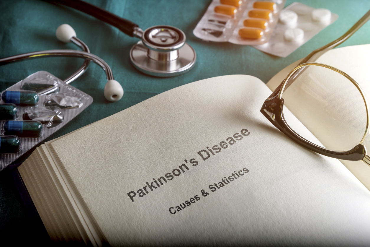 Open Book Of Parkinson's Disease, Conceptual Image