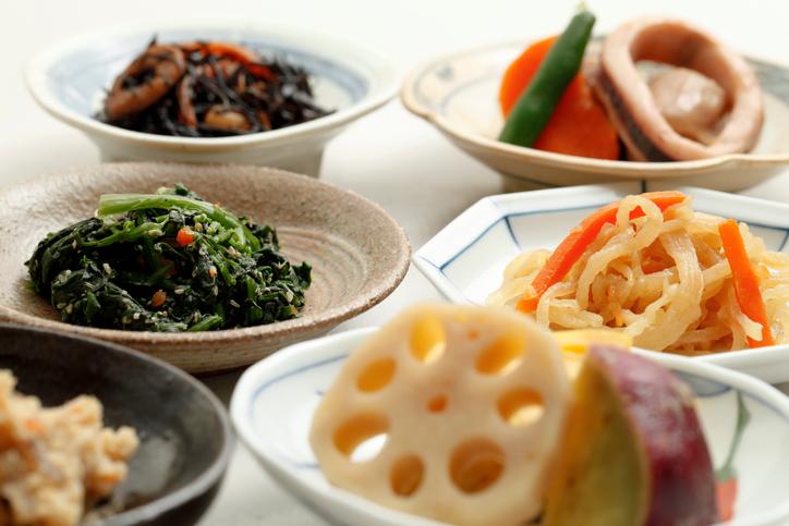 Healthy Japanese cuisine,