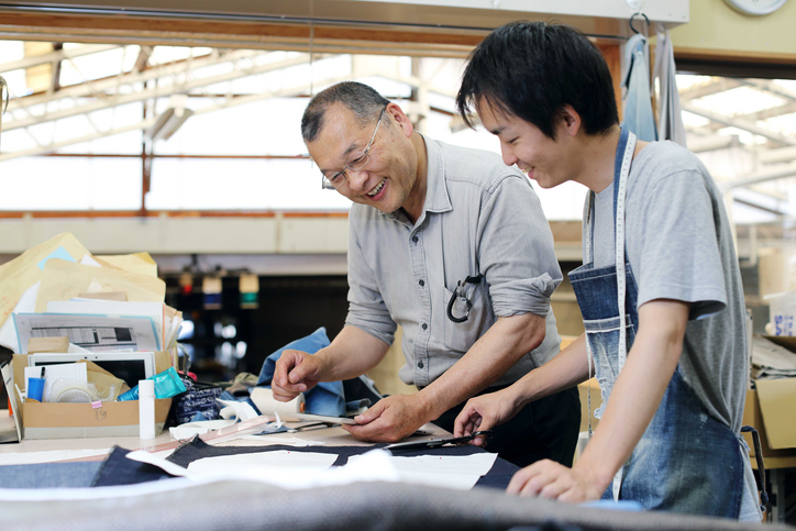The tailor who talks about denim