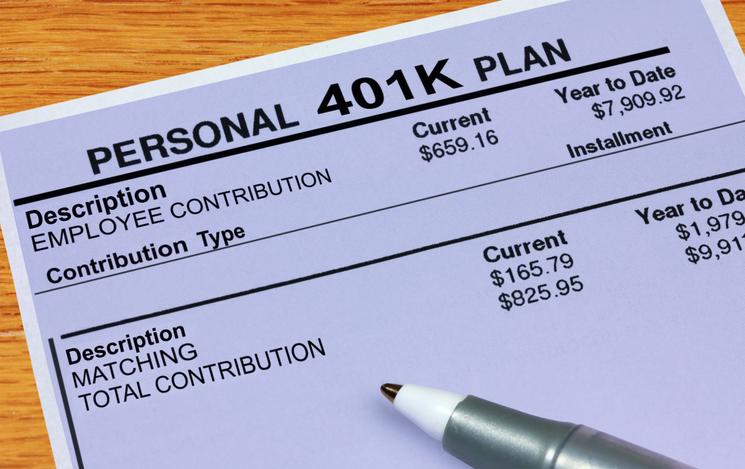 Personal 401K Plan Statement