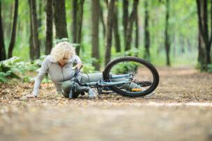 Fell of the bike