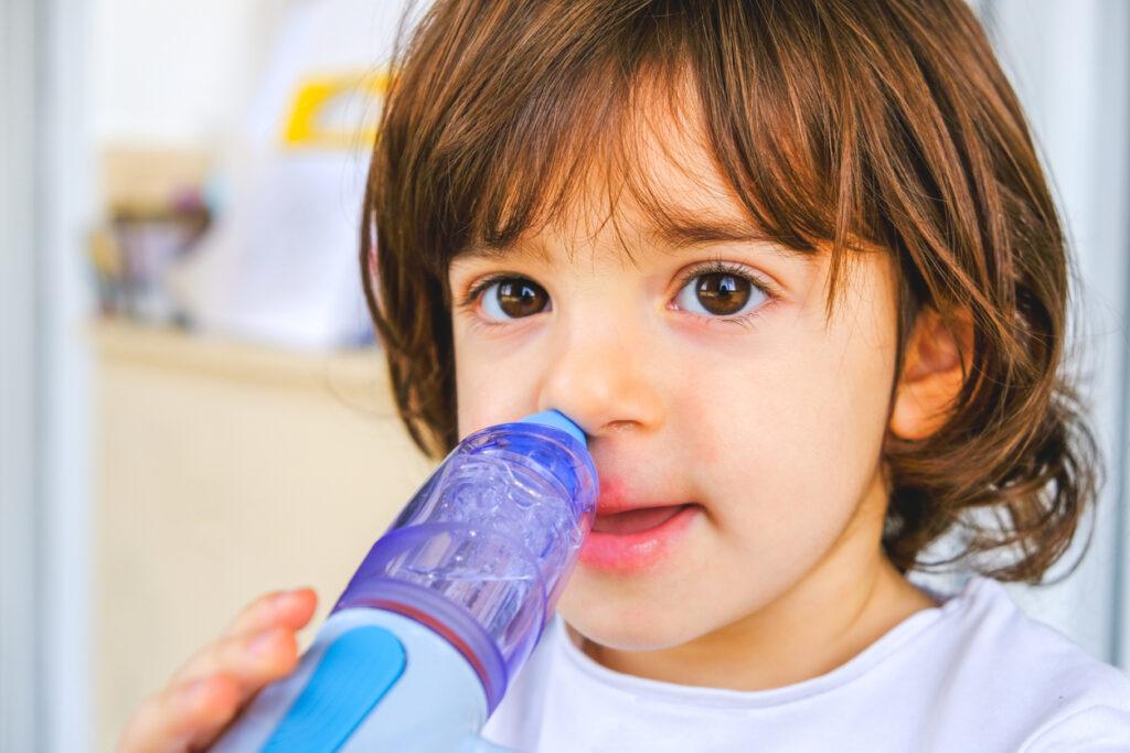 前頭葉機能低下を予防する鼻うがいはコロナウイルス感染症にも有効?