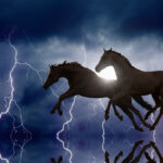 Horses and lightnings