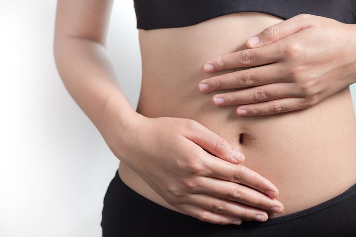 Pregnancy or diet concept
