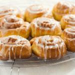 Delicious cinnamon buns
