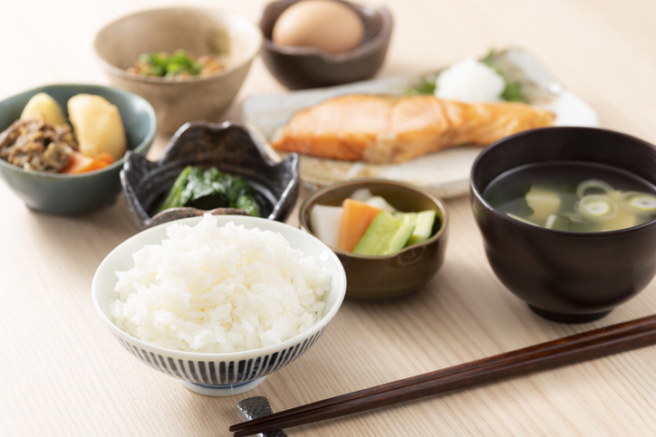 Japanese breakfast image