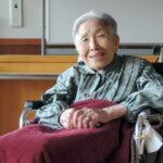 smiling japanese grandmother