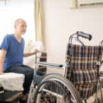 Wheelchairs in private rooms and the elderly
